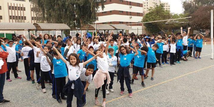 Journée solidarité: visite des orphelins