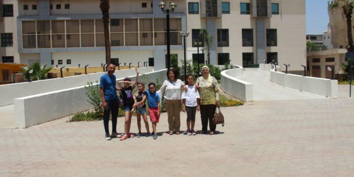 Visite des élèves à l'hôpital Demerdesh