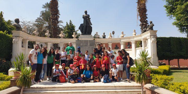 Les CM1 au musée du Caire