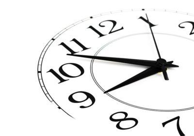 Changement des horaires