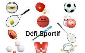 Défis sportifs semaine du 19 au 24 avril 2020