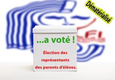 Élections au CE J moins 2